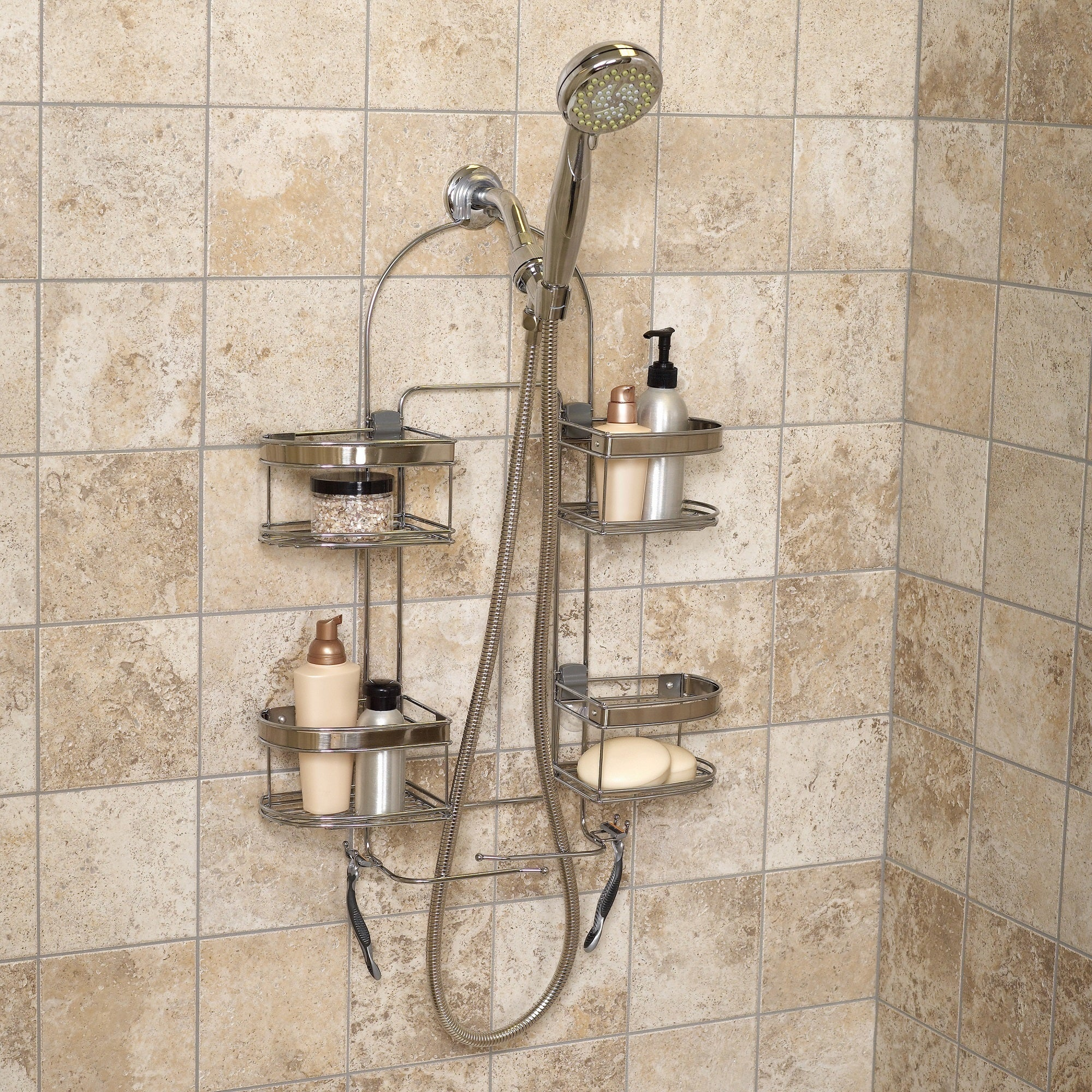 Shop Expanding Convertible Showerhead And Handheld Stainless Steel
