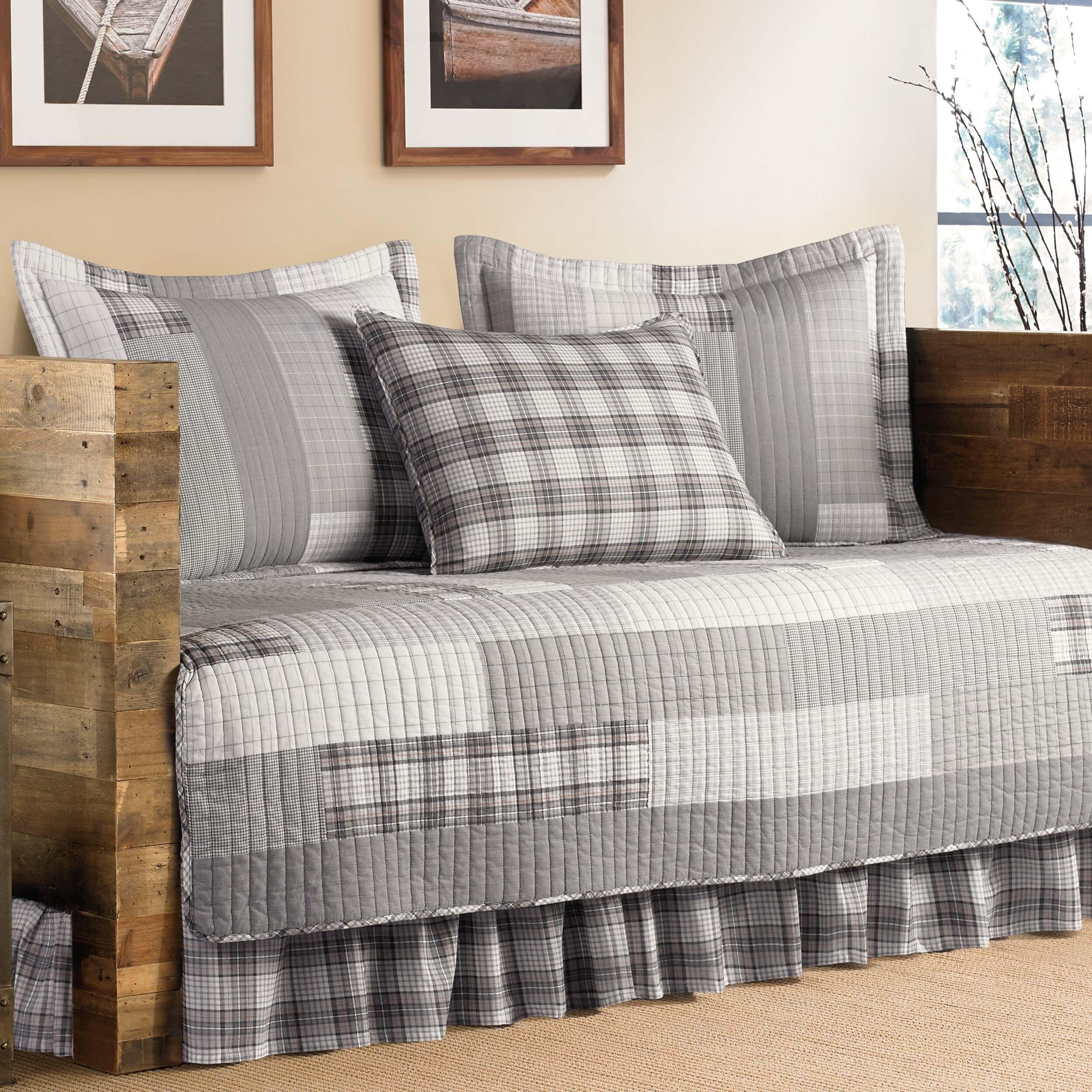 eddie bed bauer master cfm plaid hayneedle set bedding lewis product comforter by