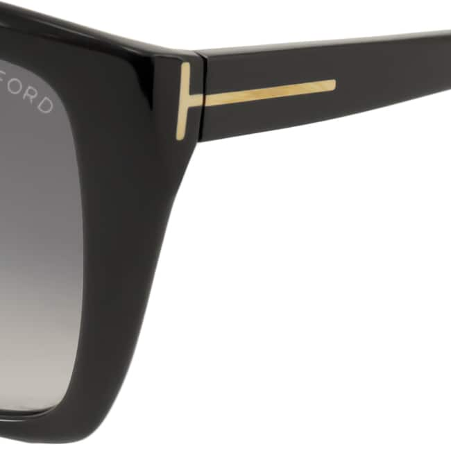 5e267f6bb666 Shop Tom Ford Women s  TF295 Carli 01B  Cat Eye Sunglasses - Free Shipping  Today - Overstock - 9515319