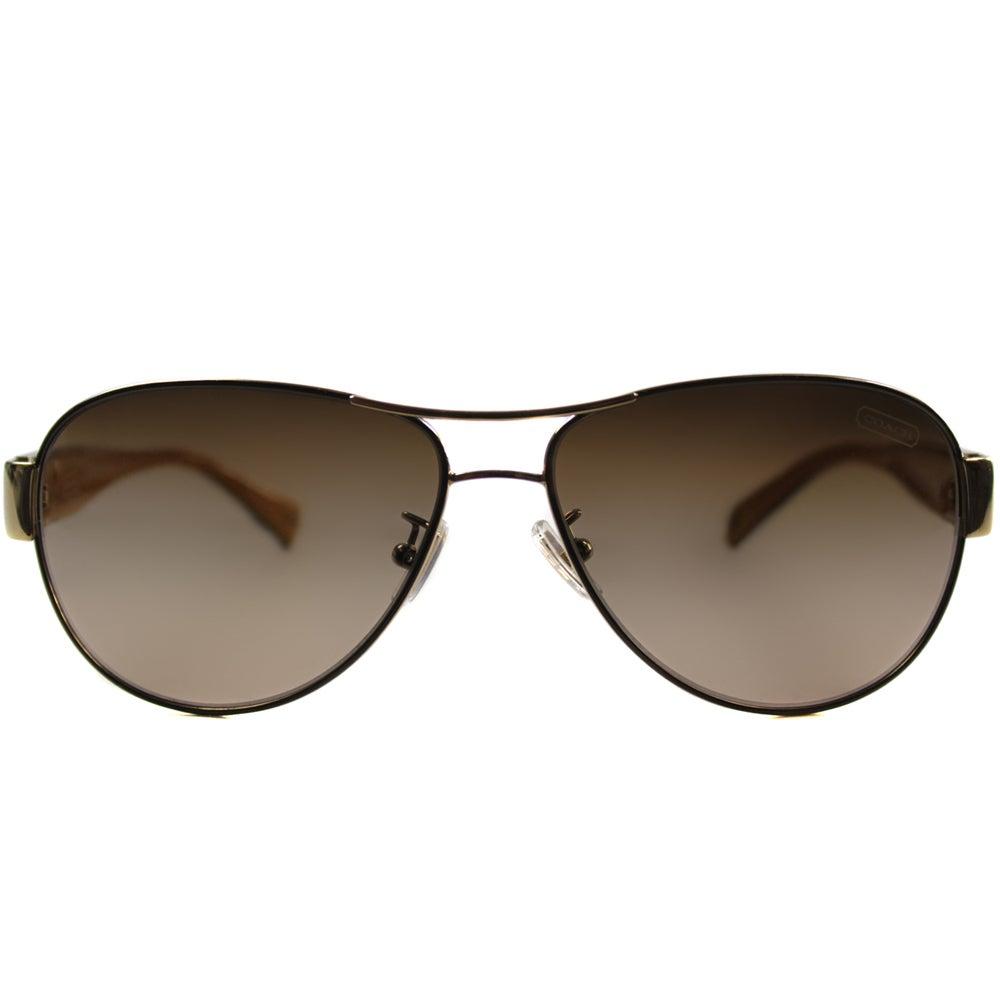 05d372905ba5 ... low price shop coach womens hc 7009q l024 charity 9056 13 aviator  sunglasses free shipping today