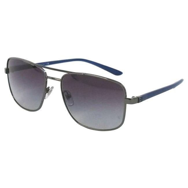 02c6f9c0472d5 Shop Versace Men s  VE 2153 1001 8G  Gunmetal Fashion Sunglasses - Free  Shipping Today - Overstock - 9516814