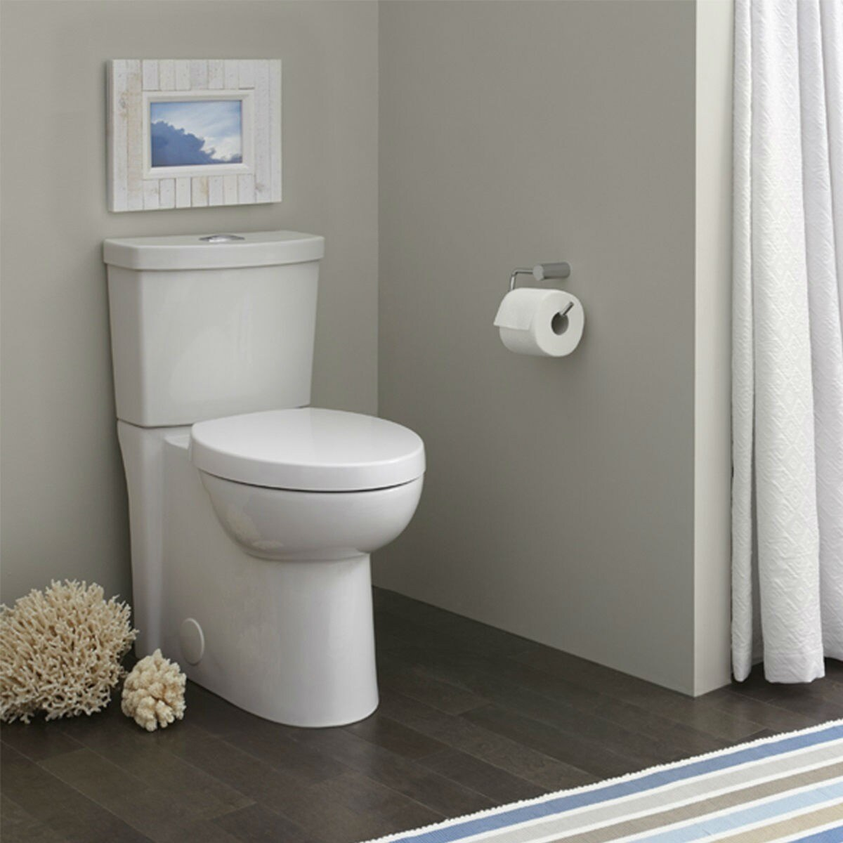 Shop American Standard Studio Elongated Dual Flush Right Height Two ...