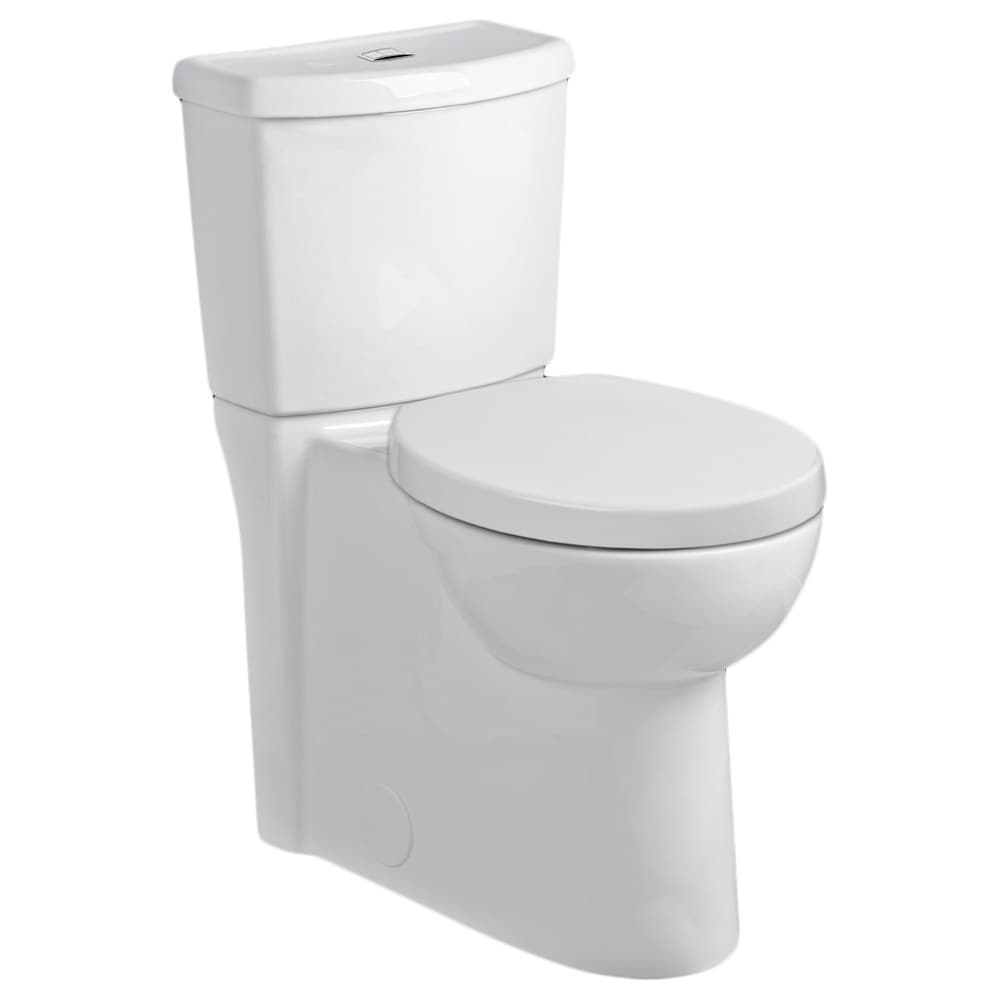 Shop American Standard Studio Round Dual Flush Right Height Two ...