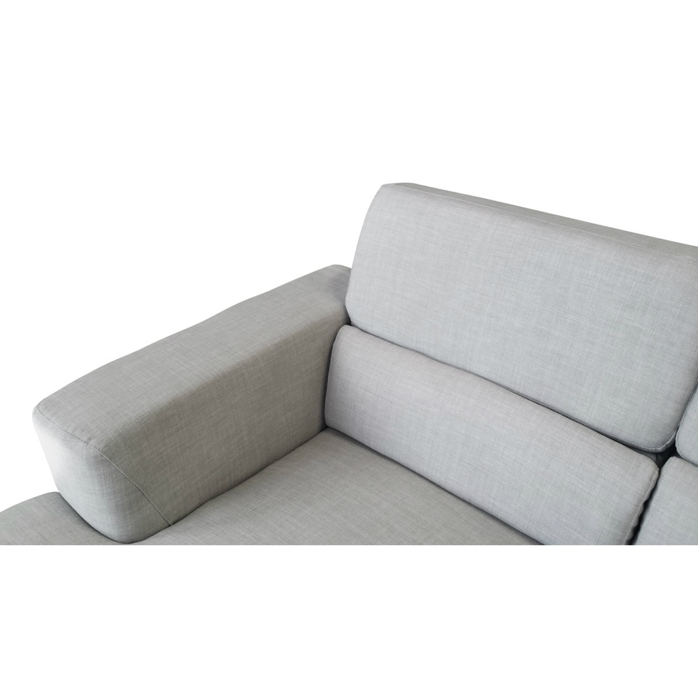 Shop DG Casa Beige Chelsea Sectional Sofa   On Sale   Free Shipping Today    Overstock.com   9528132