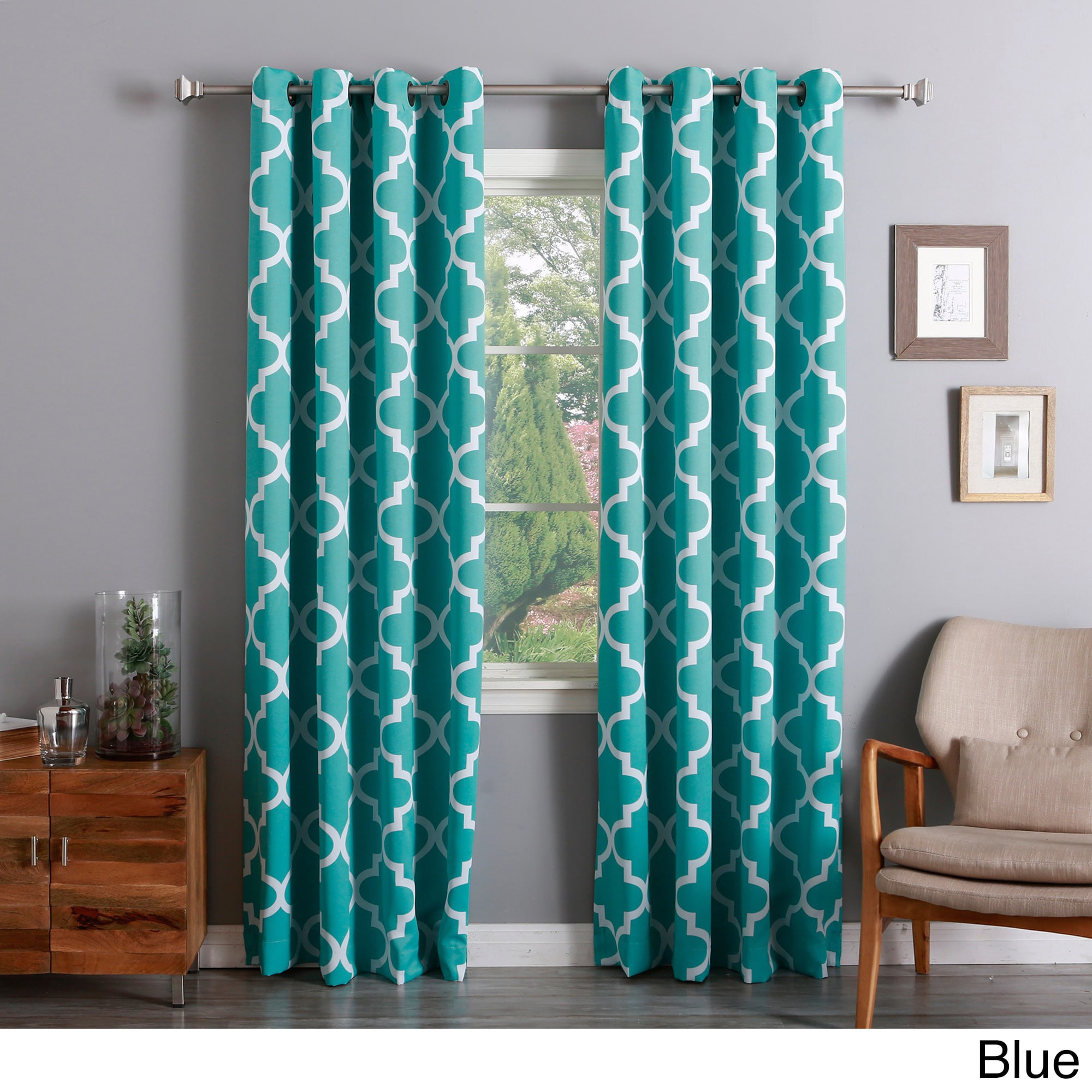 bed tiffany and blackout bath darkening curtain from window drapes eclipse dressings beyond of blue best curtains