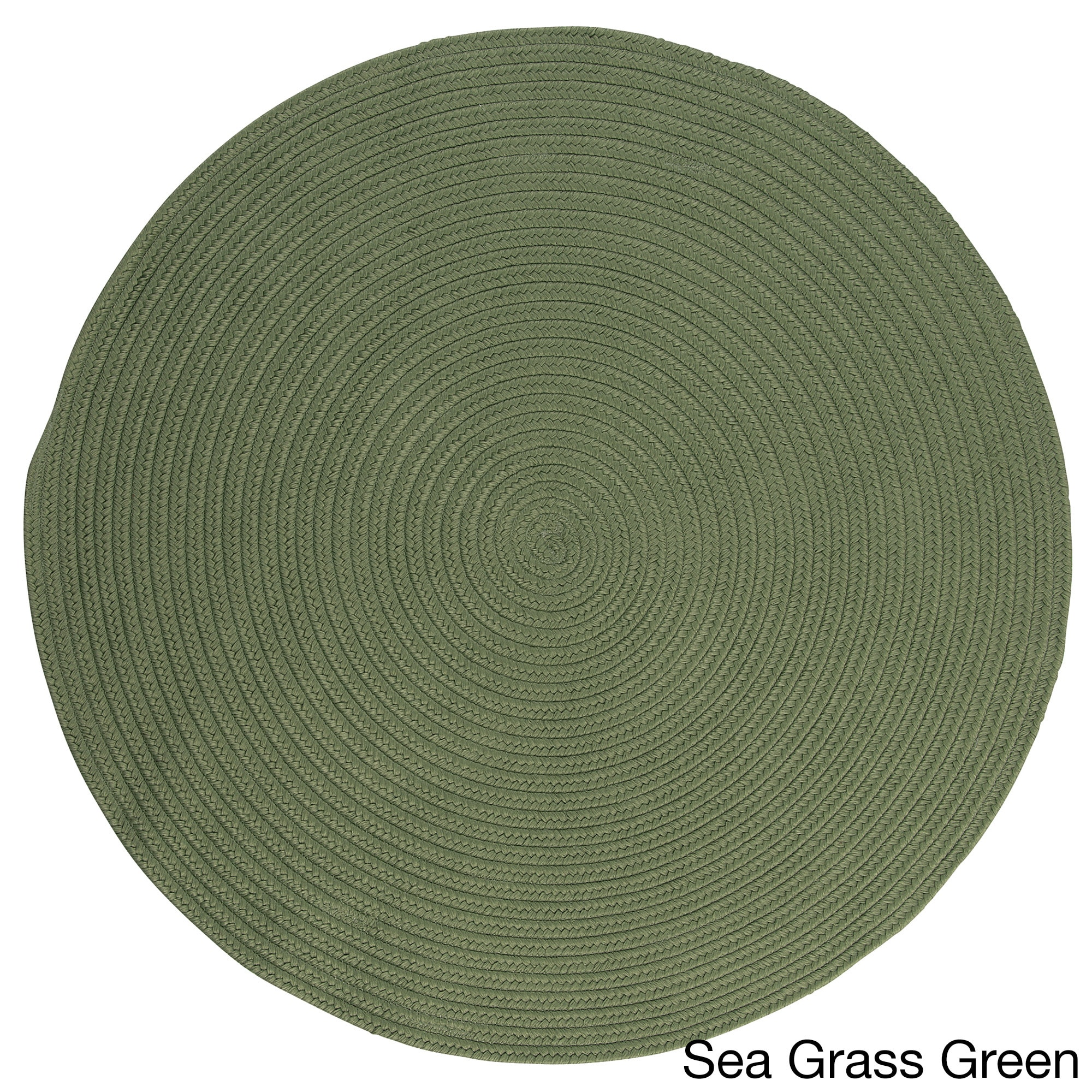Anywhere Round Reversible Indoor Outdoor Rug 10 x 10 10 x