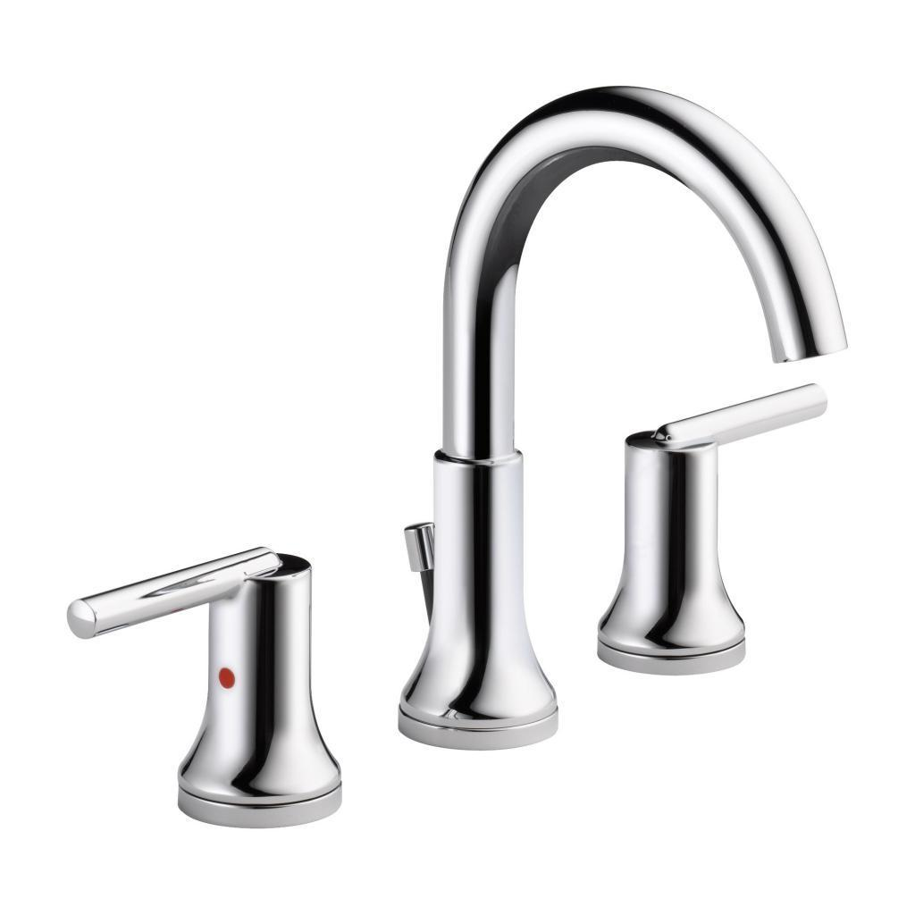 Delta Trinsic Two Handle Widespread Lavatory Faucet 3559-MPU-DST ...