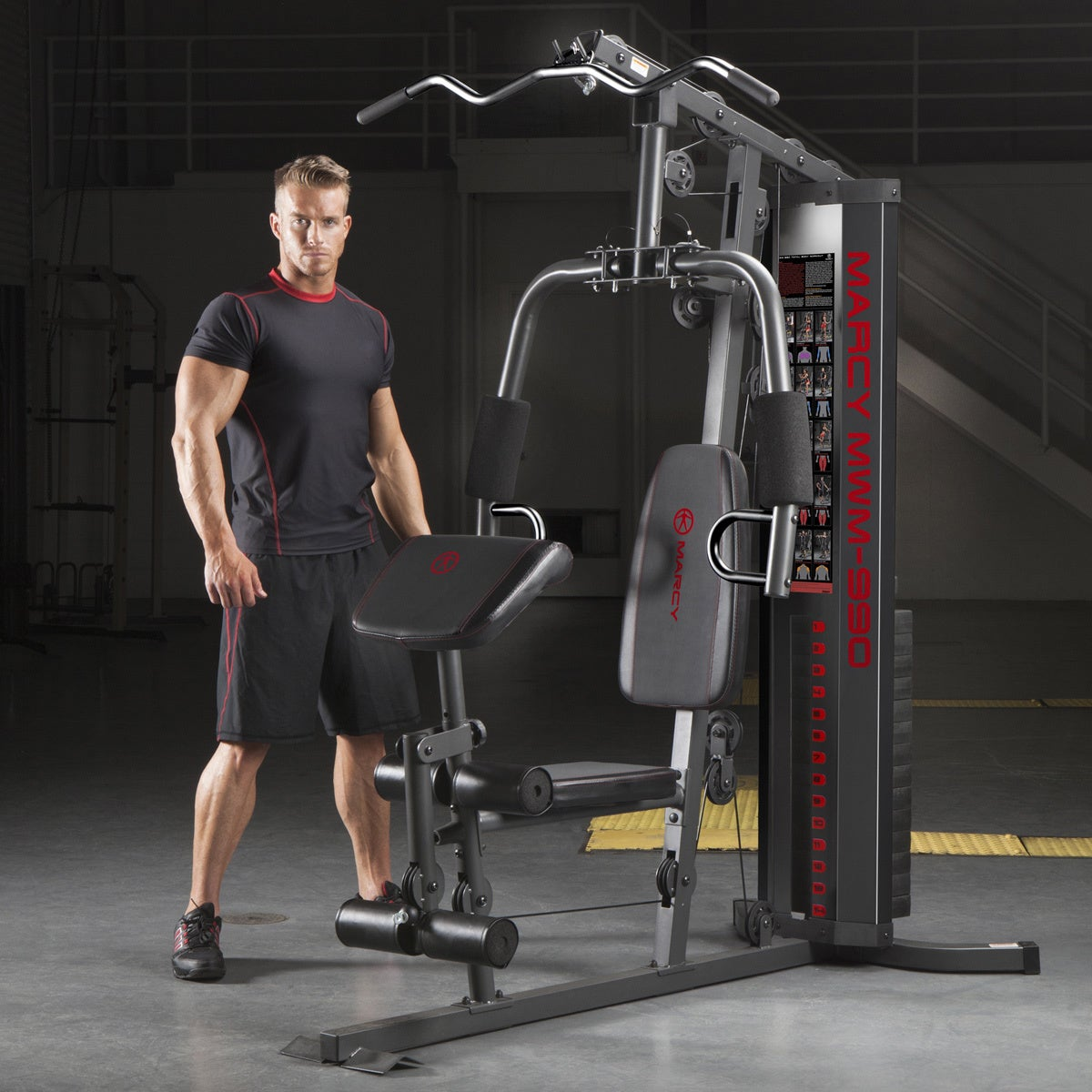Shop marcy pound stack home gym free shipping today
