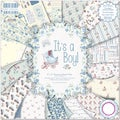"First Edition Premium Paper Pad 8""X8"" 48/Pkg-It's A Boy"