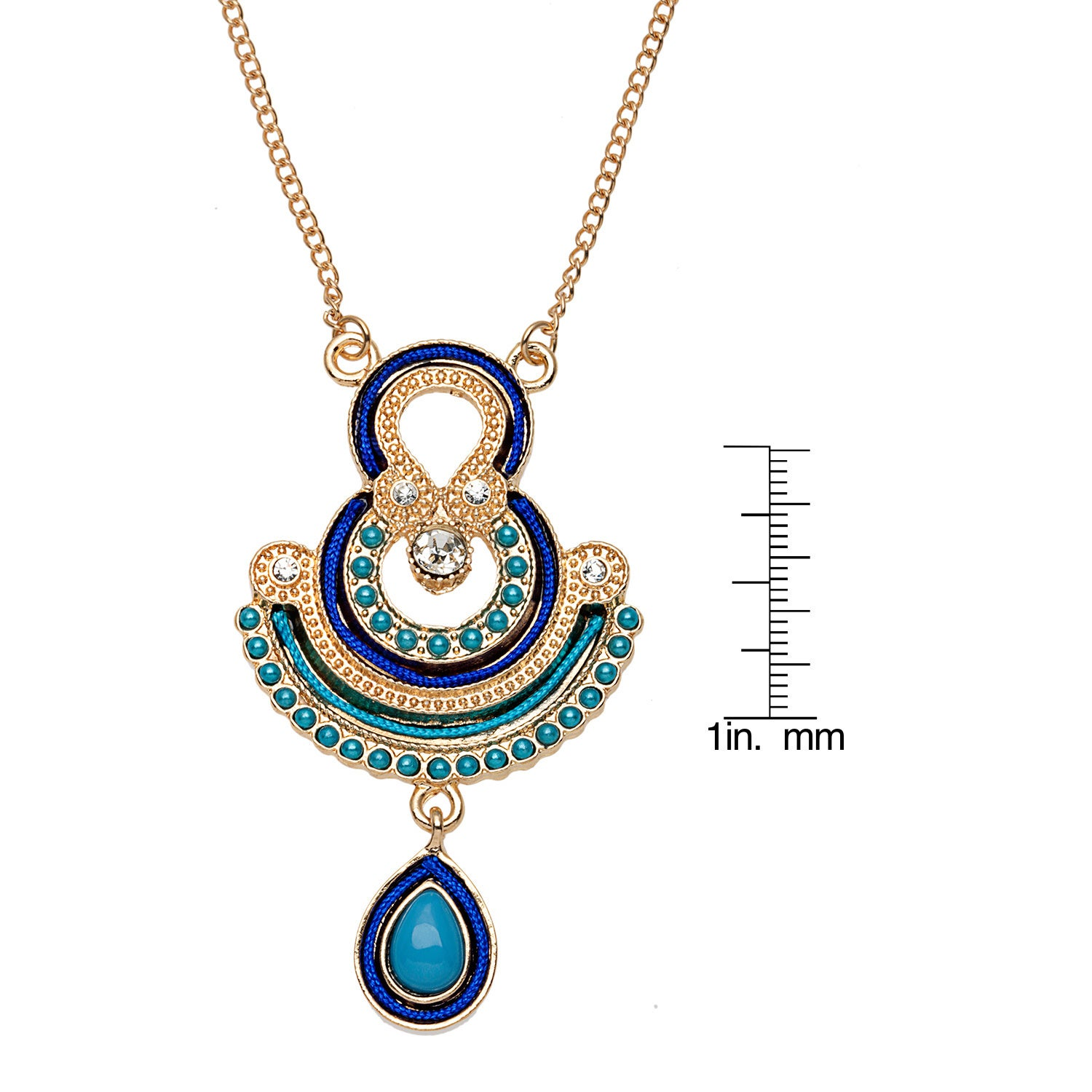 Alexa starr art deco pendant necklace and earrings jewelry set alexa starr art deco pendant necklace and earrings jewelry set free shipping on orders over 45 overstock 16714283 mozeypictures Image collections