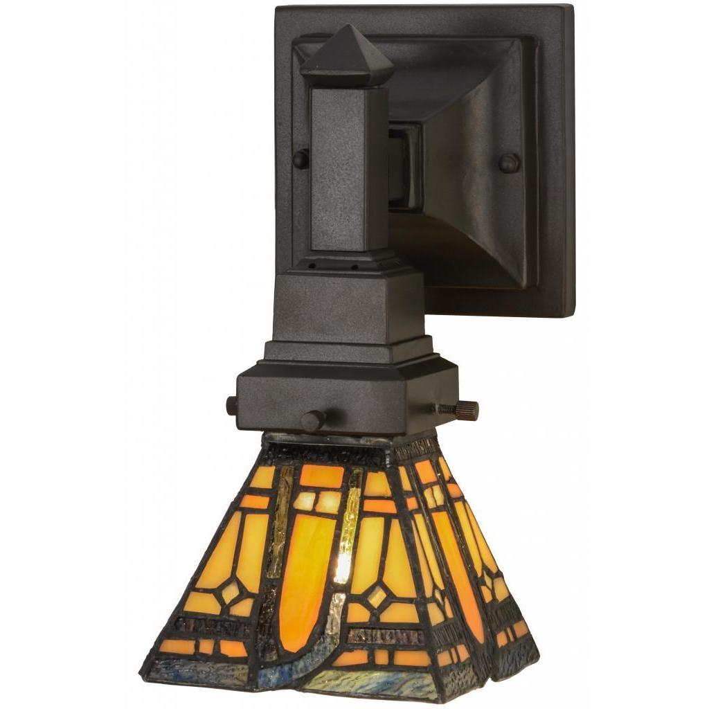 Shop 5 Inch Sierra Prairie Mission Wall Sconce Free Shipping Today