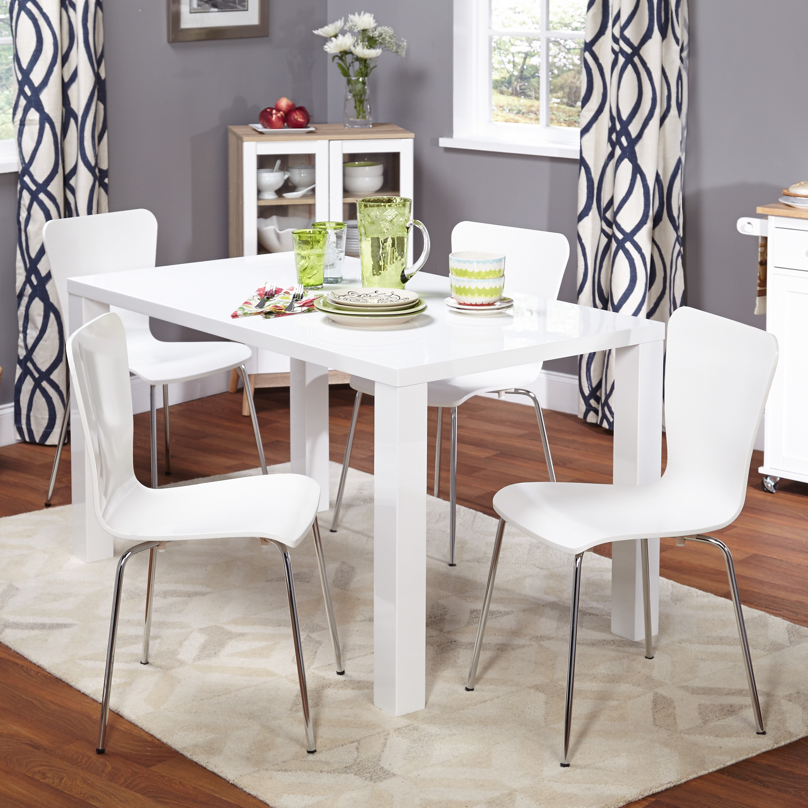Simple Living 5 Piece Felix Dining Set Free Shipping Today 16714302