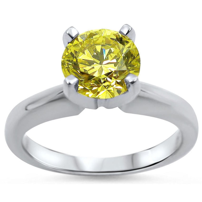 sarah canary cz rings designs laurie set princess agatha and engagement product yellow ring collection wedding cut shank diamond