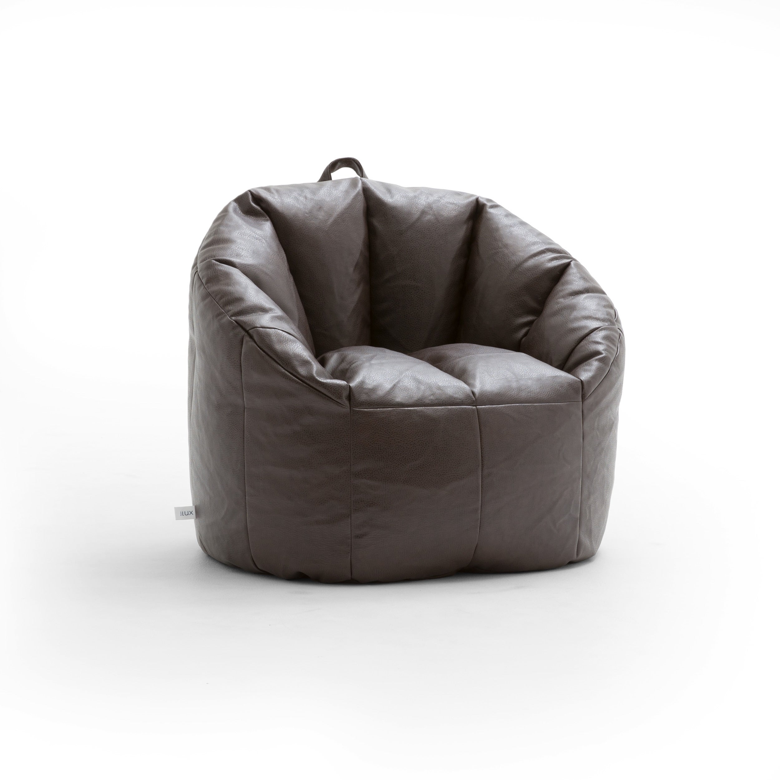 Joe Lux Milano Vegan Leather Bean Bag Chair Multiple Colors On Free Shipping Today 9536758