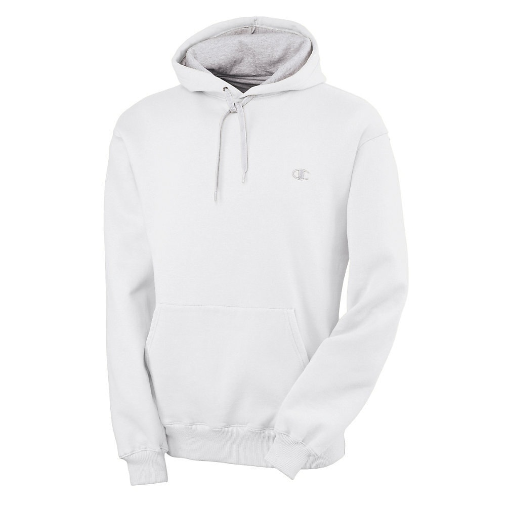 cb9648043a6e Shop Champion Men s Eco Fleece Pullover Hoodie - Free Shipping On Orders  Over  45 - Overstock - 9537645