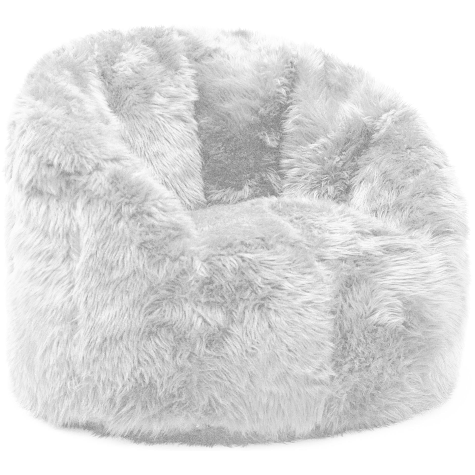 Merveilleux Shop Big Joe Lux Milano Shag Fur Chair   Free Shipping Today    Overstock.com   9539001