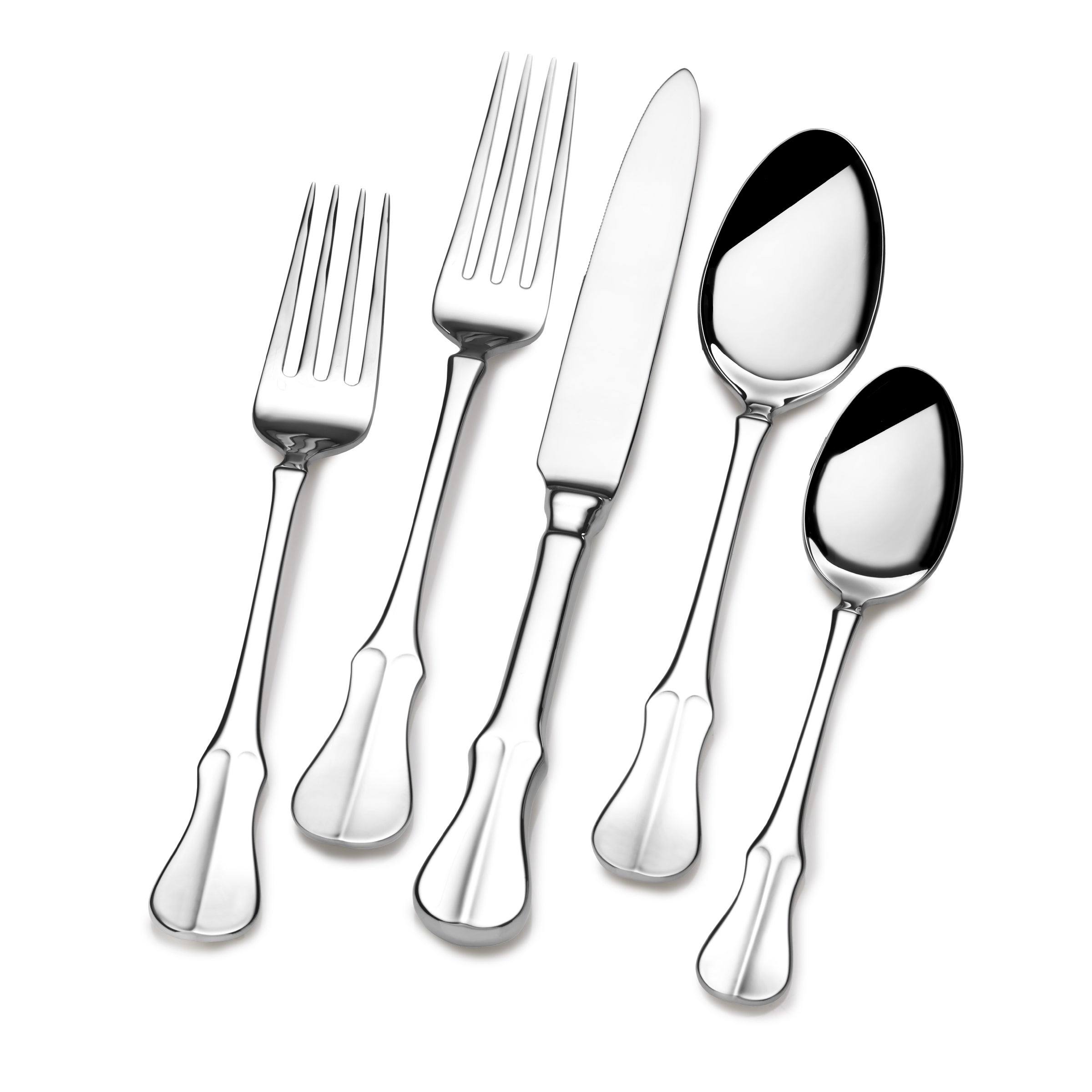 Shop Wallace Elite Curator 1810 Stainless Steel 65 Piece Flatware