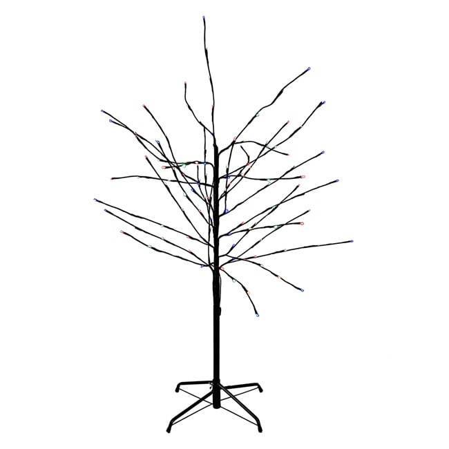 Shop Kurt Adler 4 Foot Multi Twinkle Led Tree