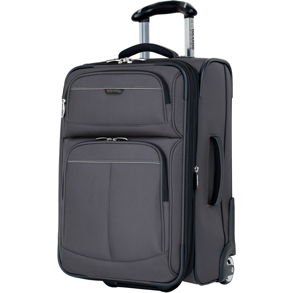 e8c2b075f17 Shop Ricardo Beverly Hills Mar Vista Graphite 22-inch Expandable Carry On  Upright Suitcase - Free Shipping Today - Overstock.com - 9540671