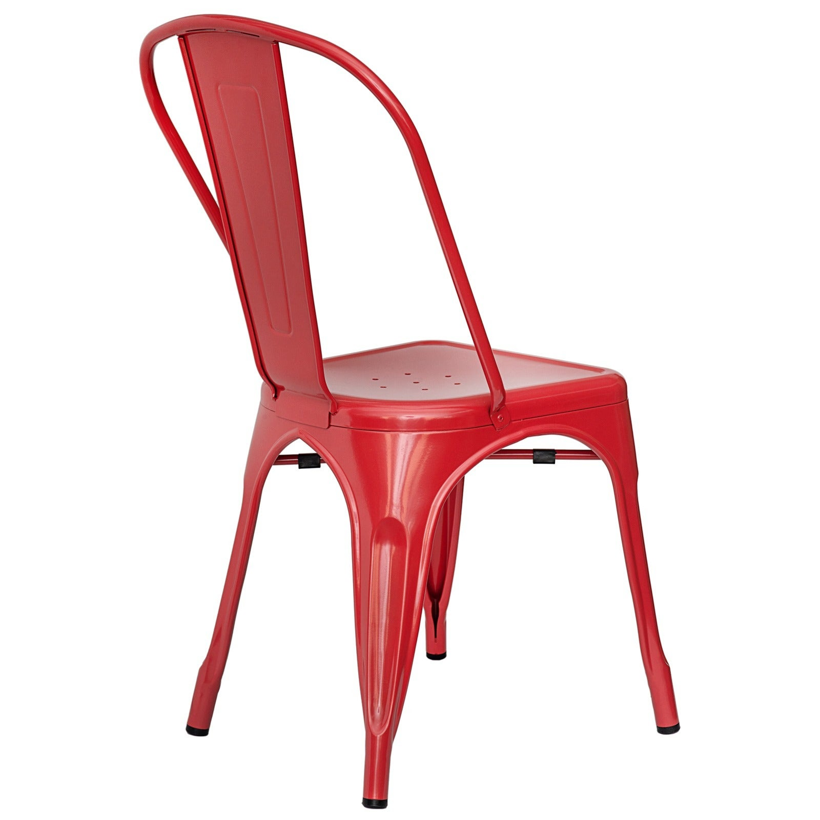 Poly and Bark Trattoria Steel Dining Chair (Set of 2) - Free ...