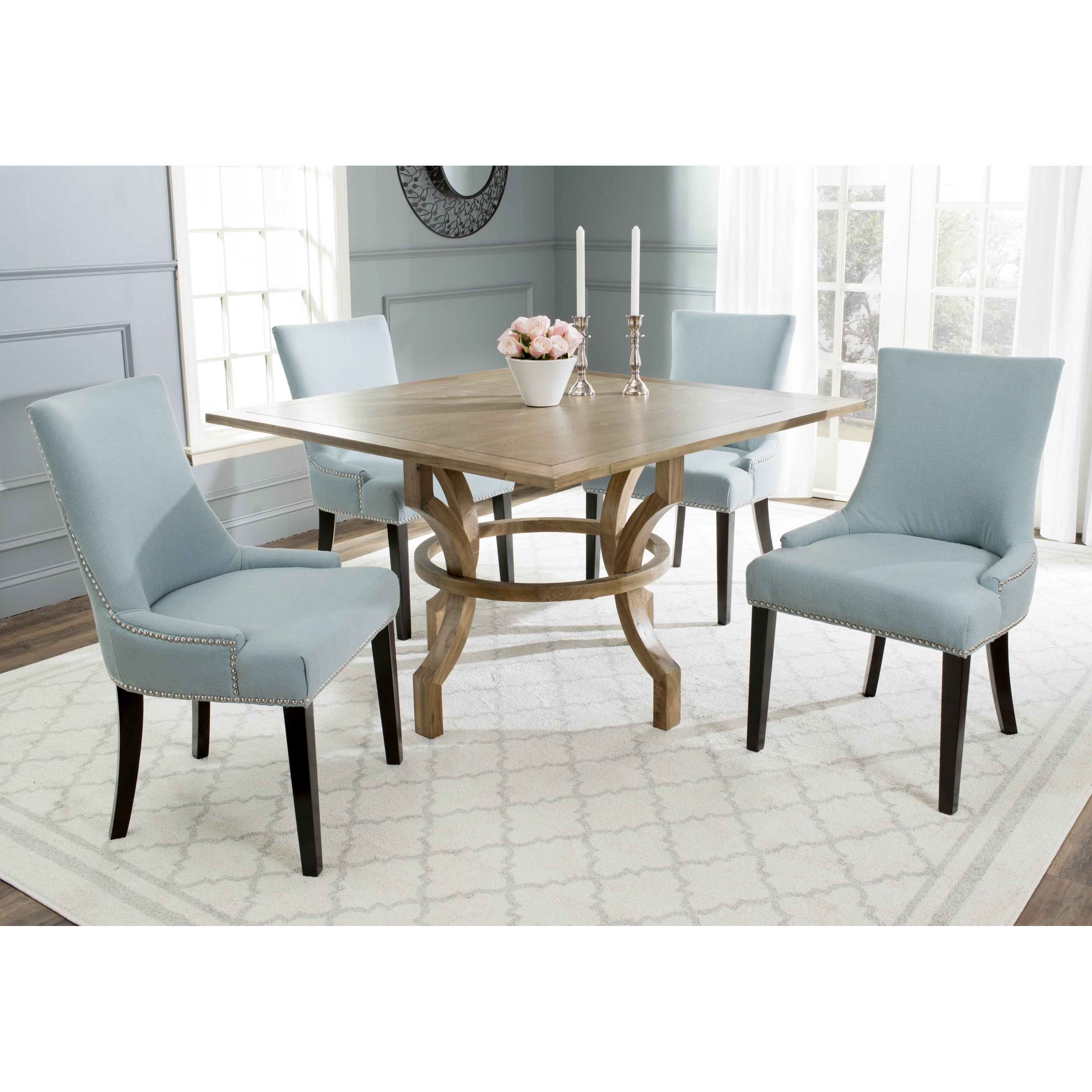 Shop safavieh ludlow oak square dining table free shipping today shop safavieh ludlow oak square dining table free shipping today overstock 9542211 watchthetrailerfo