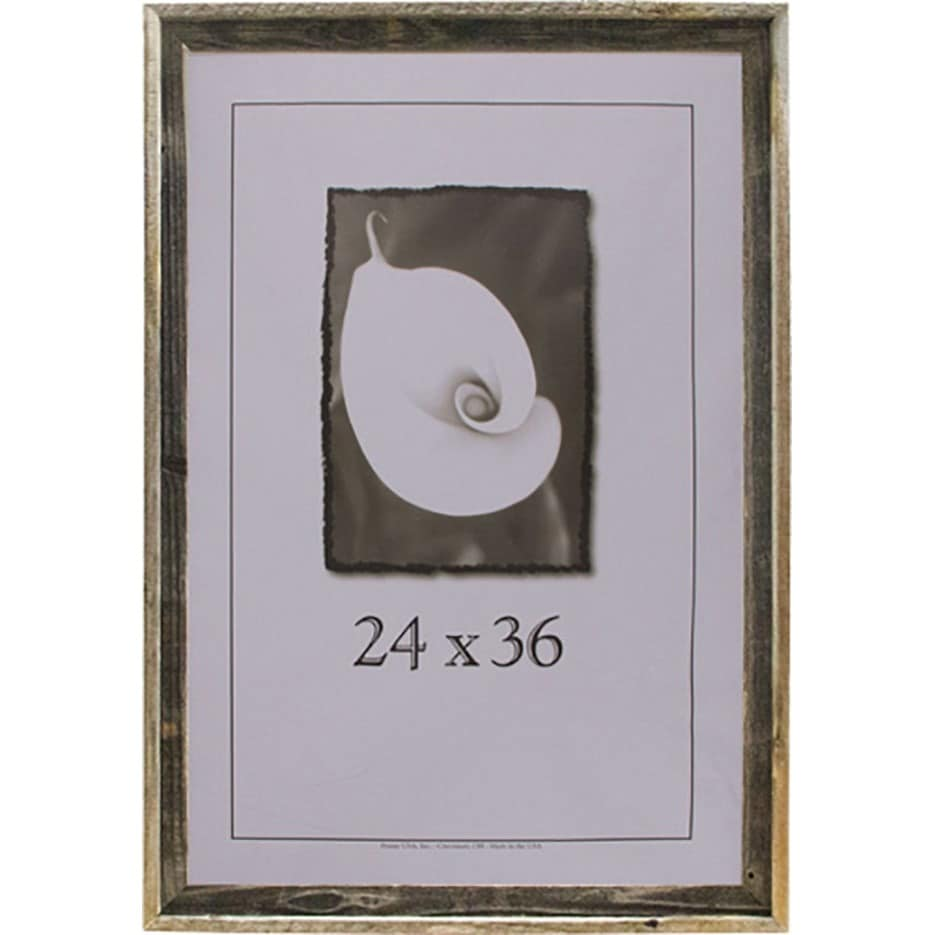 Barnwood 24x36 Picture Frame - Free Shipping Today - Overstock ...