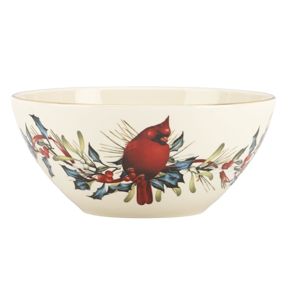 Shop Lenox Winter Greetings 7 Inch Bowl Free Shipping On Orders