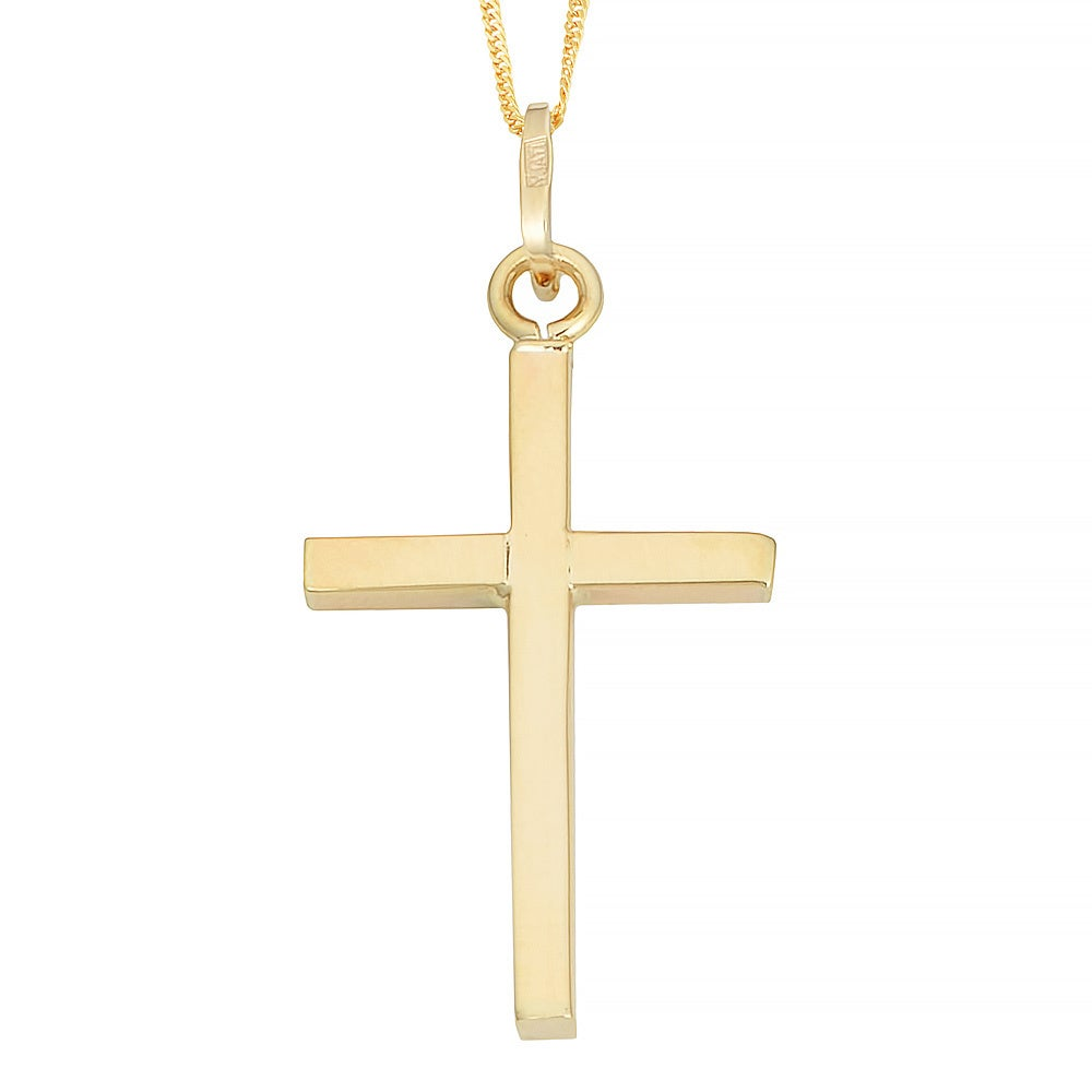 Fremada 10k yellow gold cross pendant on gold filled singapore chain fremada 10k yellow gold cross pendant on gold filled singapore chain necklace free shipping today overstock 16729437 aloadofball Gallery