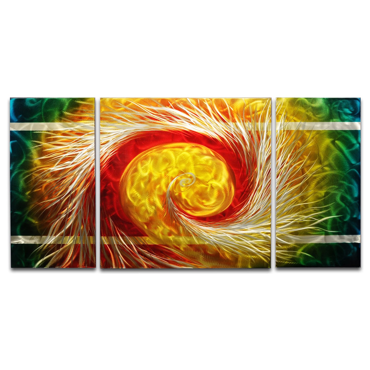 The Phoenix\' XL Metal Wall Art 24 x 48 in. - Free Shipping Today ...
