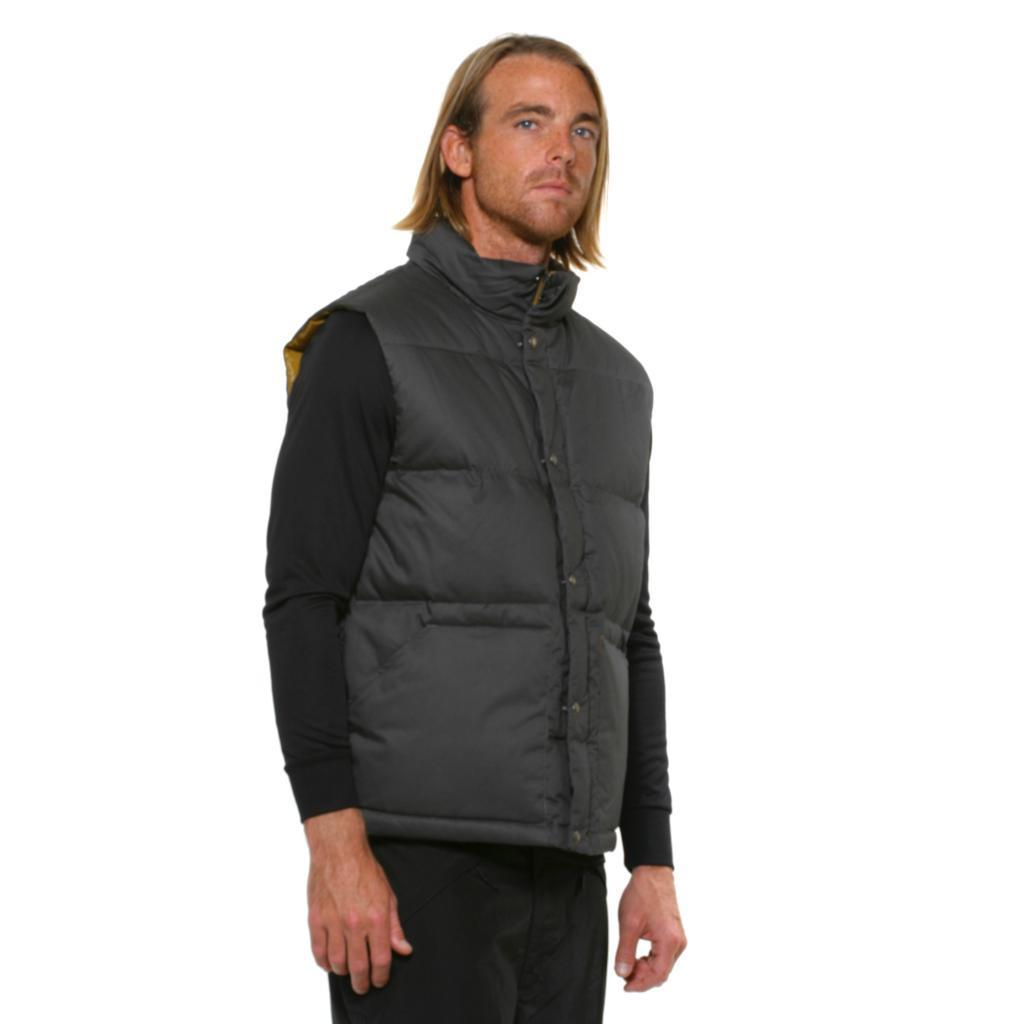 shop the north face men s lindero down graphite grey vest free rh overstock com