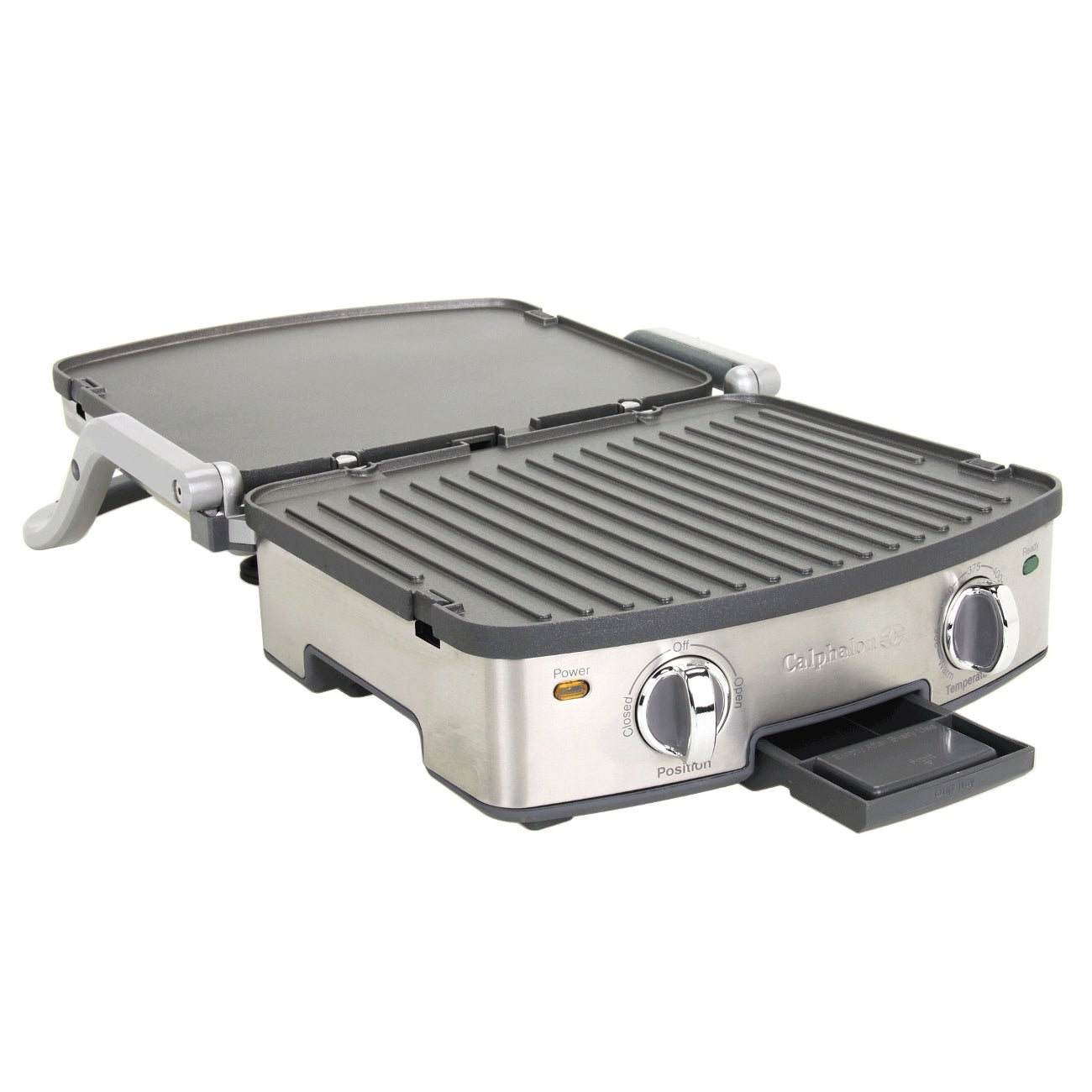 Calphalon 5 In 1 Stainless Steel Removable Plate Grill Free Shipping Today 9556456