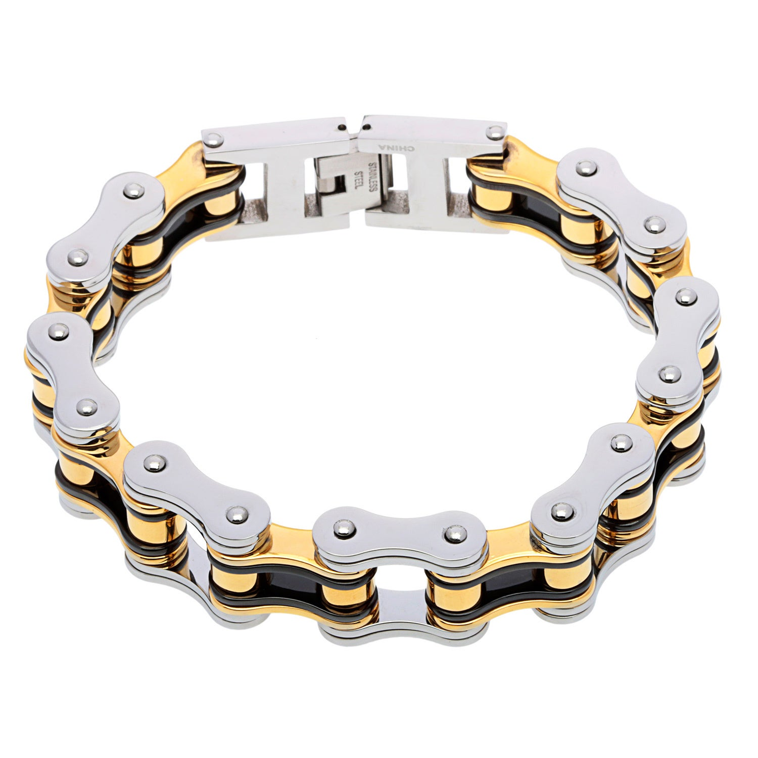 Stainless Steel Bike Chain Bracelet Free Shipping On Orders Over 45 9561374