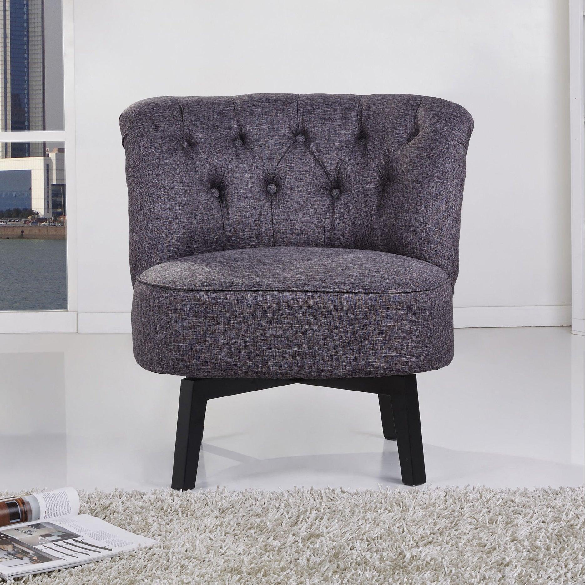 charcoal grey swivel chair gold sparrow raleigh dark grey swivel