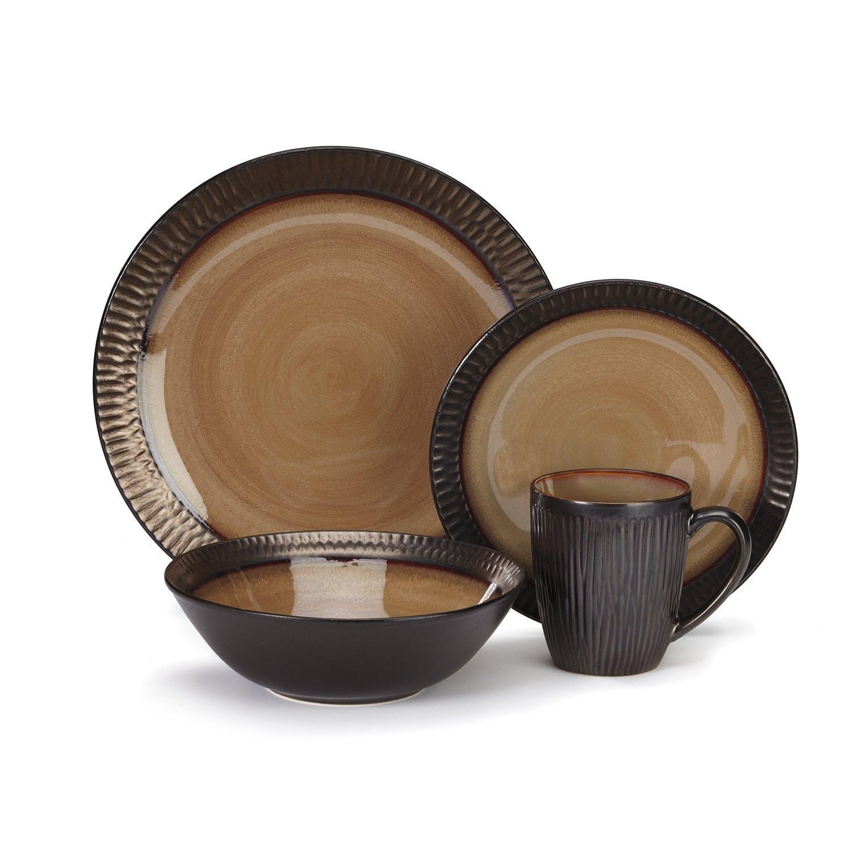 Shop Cuisinart Stoneware Alba Collection 16-piece Dinnerware Sets ...