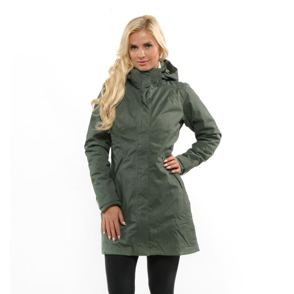 25384f41 Shop Patagonia Women's 'Vosque 3-in-1' Fatigue Green Parka - Free Shipping  Today - Overstock - 9565220