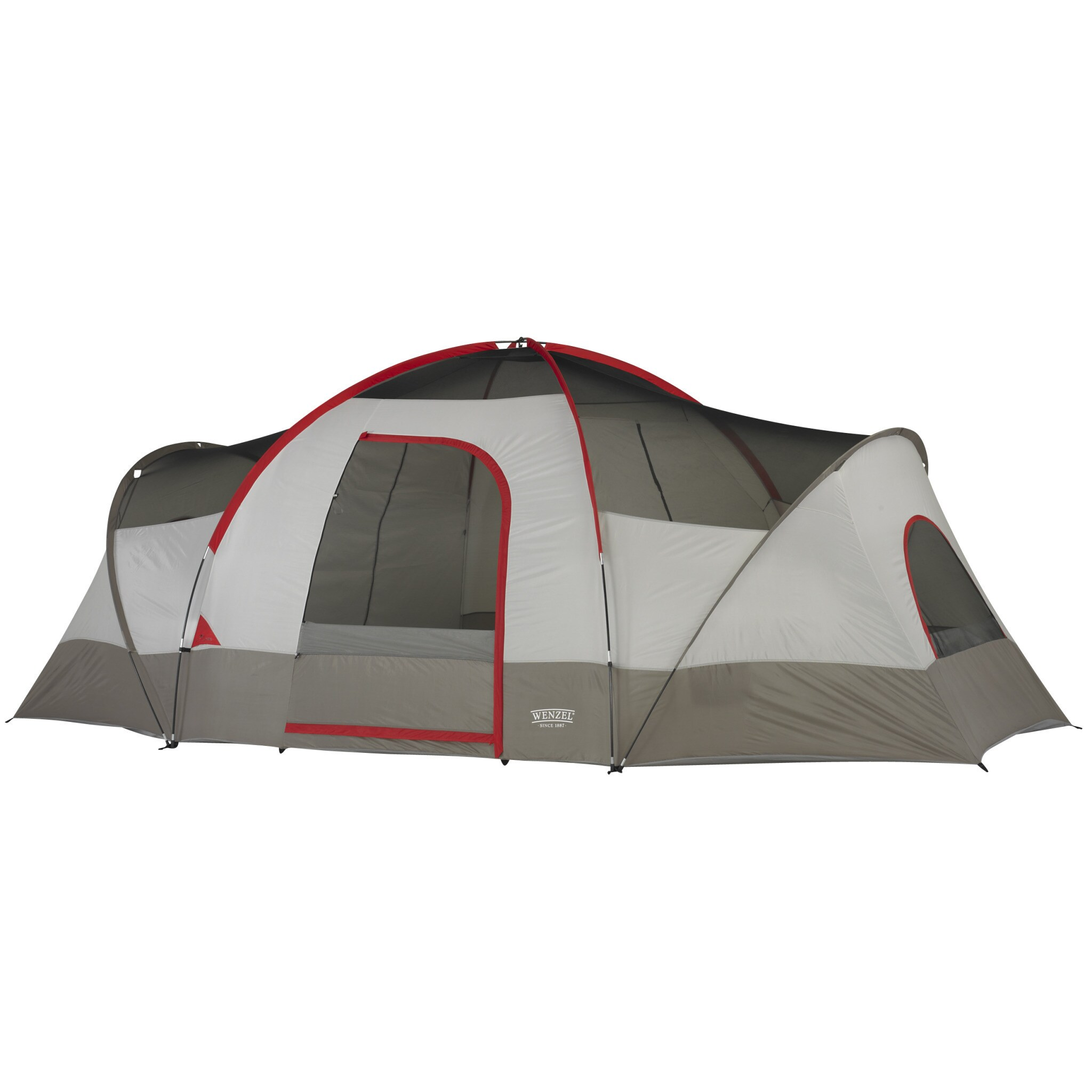 Wenzel Great Basin 10-person 3-room Tent - Free Shipping Today - Overstock.com - 16751921  sc 1 st  Overstock.com & Wenzel Great Basin 10-person 3-room Tent - Free Shipping Today ...