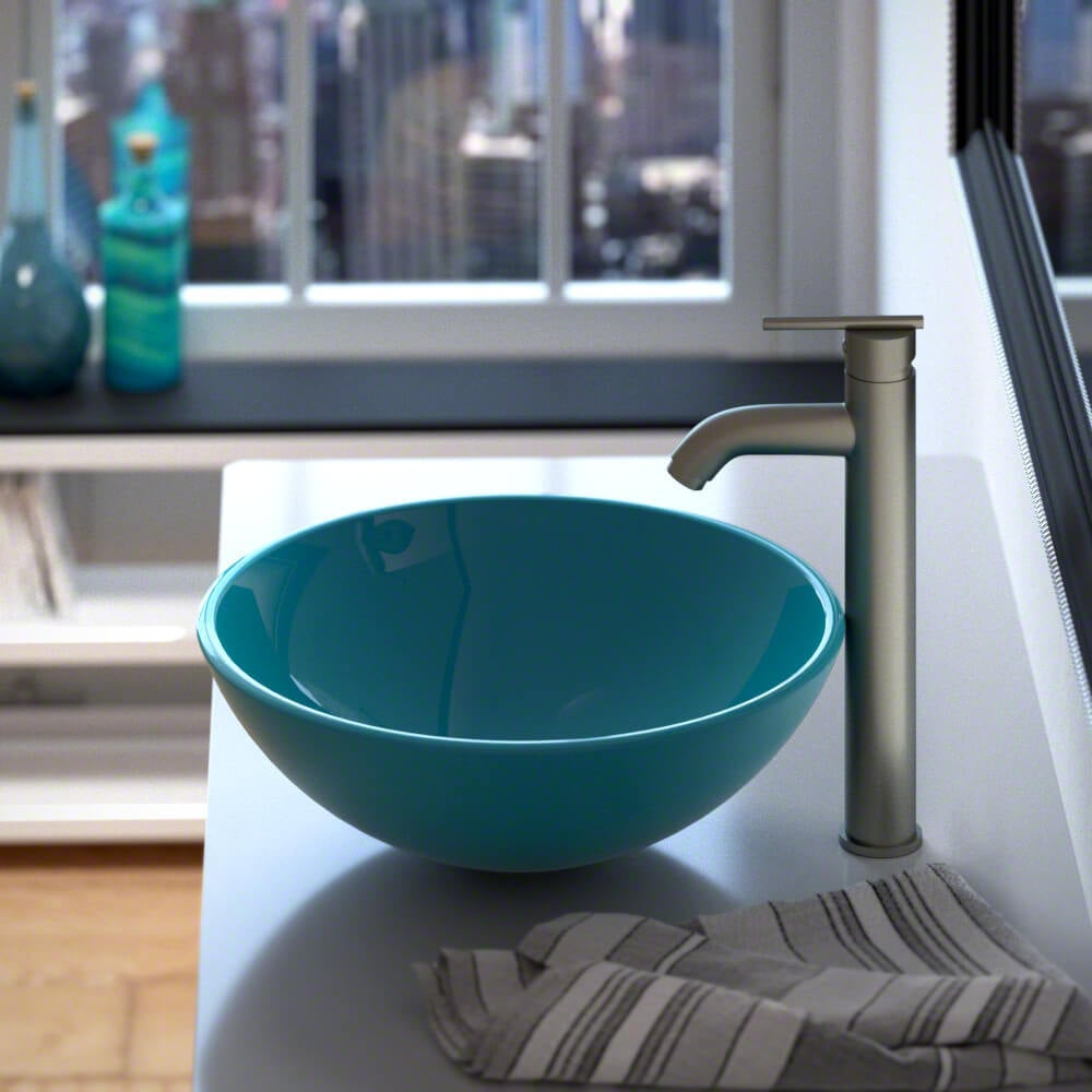 Shop 601 Coloured Glass Vessel Sink - Free Shipping Today ...