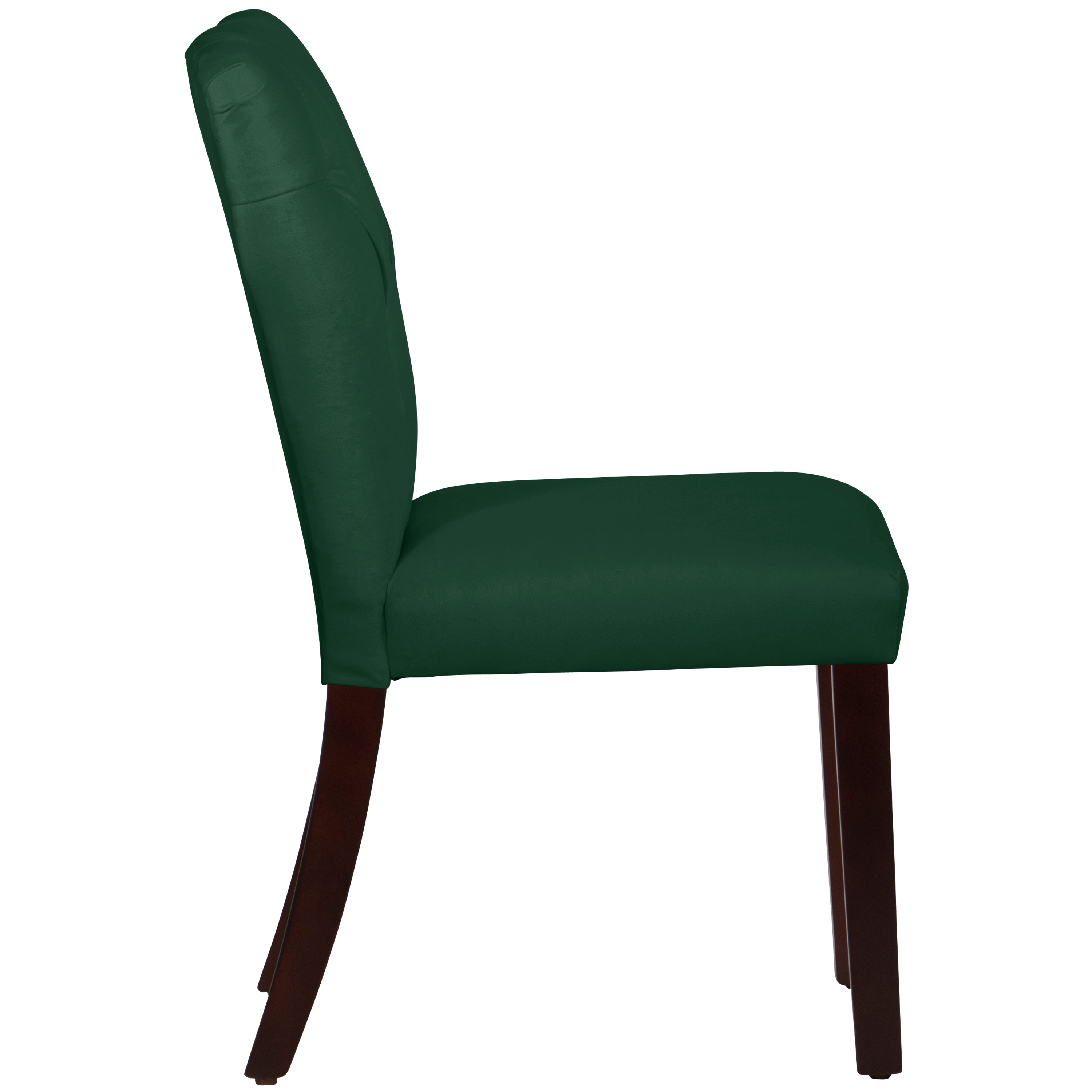 Attirant Shop Skyline Furniture Tufted Hourglass Dining Chair In Velvet Emerald    Free Shipping Today   Overstock.com   9570516
