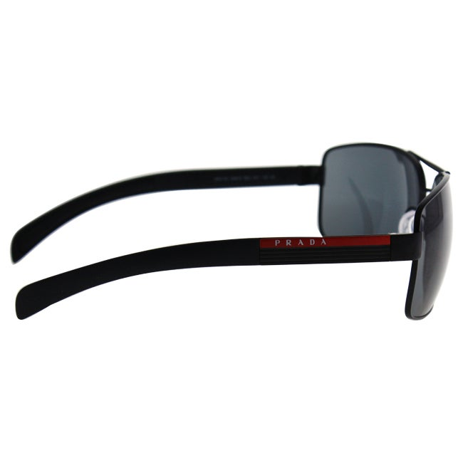 55cf3e995b Shop Prada Linea Rosa Men s  PS 54IS 1BO1A1  Aviator Sunglasses - Free  Shipping Today - Overstock - 9573146