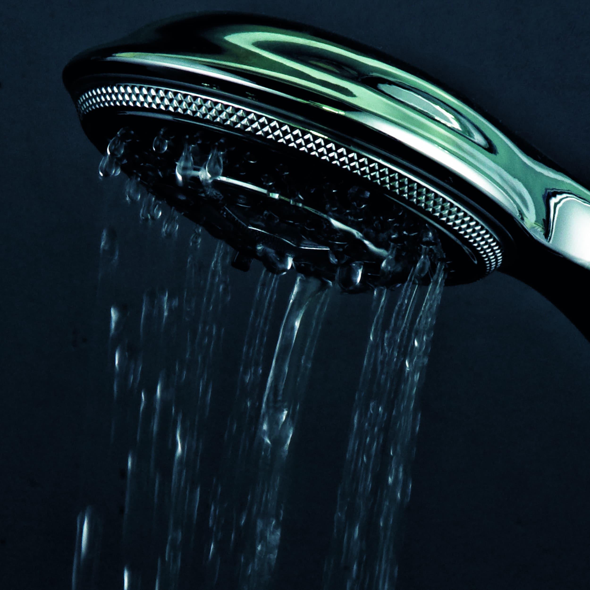 Dreamspa Temperature Sensitive LED Combination Shower Head - Free ...