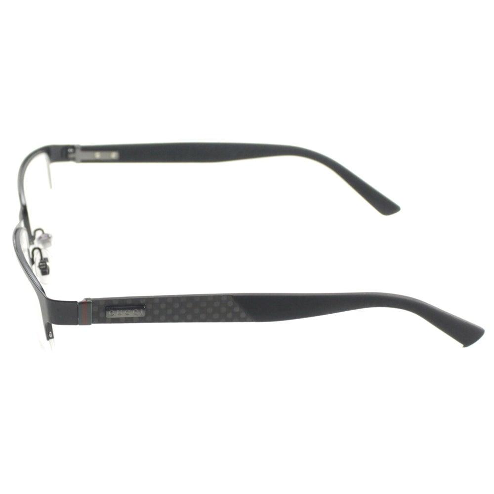 202cadfb79 Gucci Black Semi Rimless Eyeglasses « One More Soul