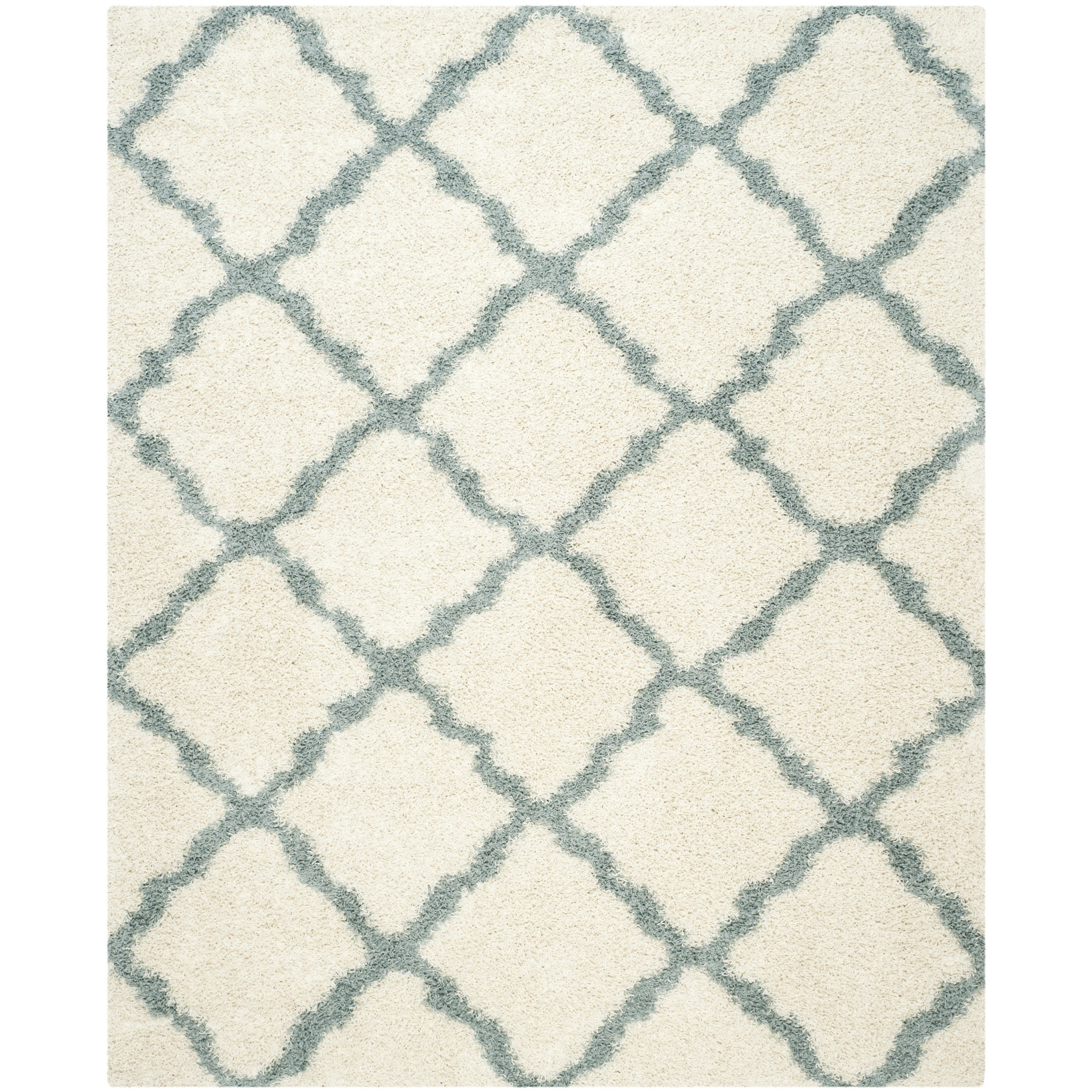 light reviews baby dark l rug blueivory safavieh shaggy ivory blue home ideas area design dhurries