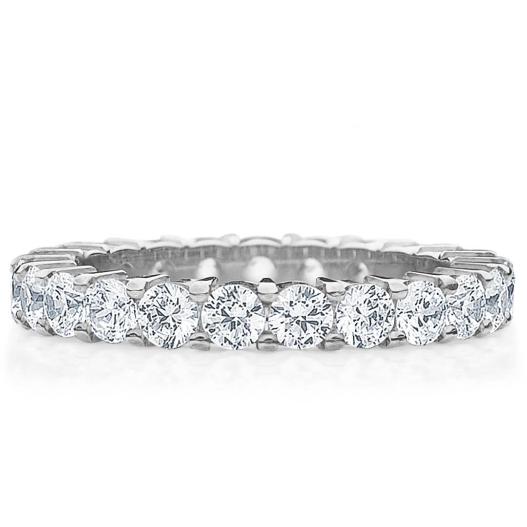 Amore Platinum 2ct Tdw Shared G Diamond Wedding Band On Free Shipping Today 9579900