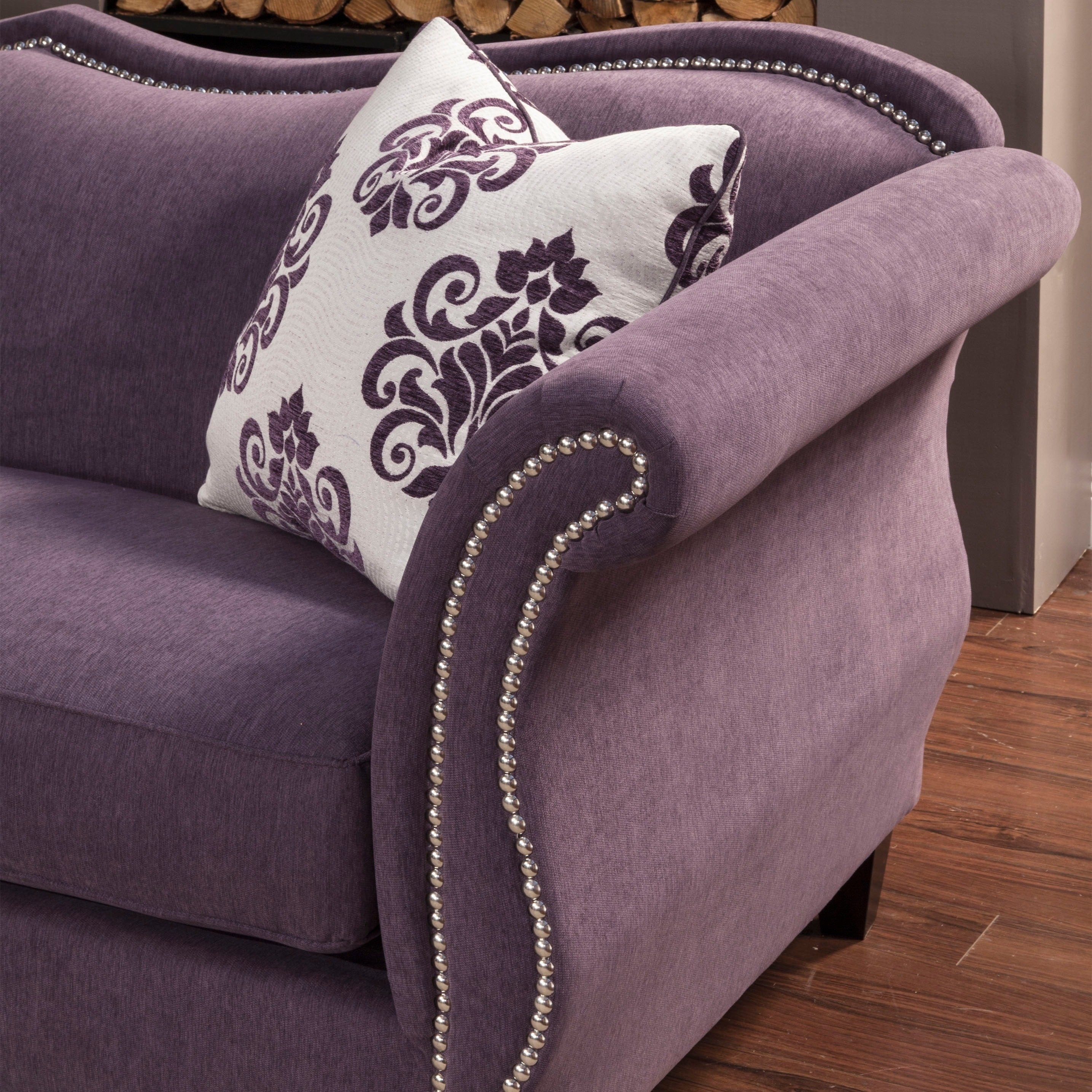 Furniture Of America Othello Loveseat Free Shipping Today  # Muebles Easy Rosario