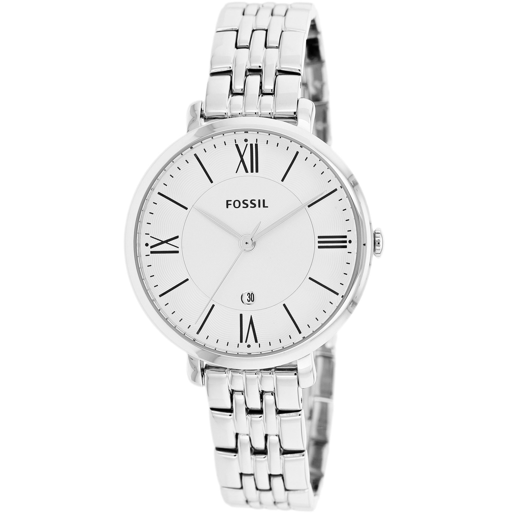 6c3b6bc6a00 Shop Fossil Women s Jacqueline Stainless Steel Watch - Free Shipping ...