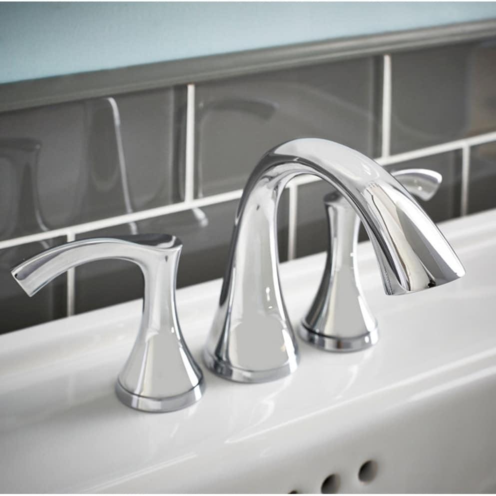 Shop Danze Antioch Polished Chrome Mini-widespread Bathroom Faucet ...