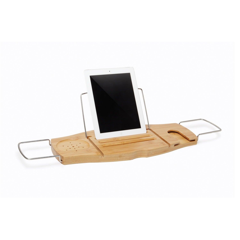 Shop Umbra Aquala Bamboo Bathtub Caddy - On Sale - Free Shipping On ...