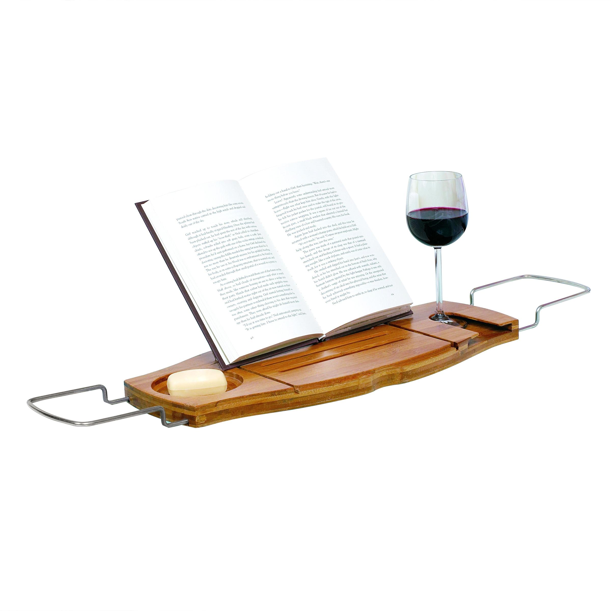 Shop Umbra Aquala Bamboo Bathtub Caddy - On Sale - Free Shipping ...