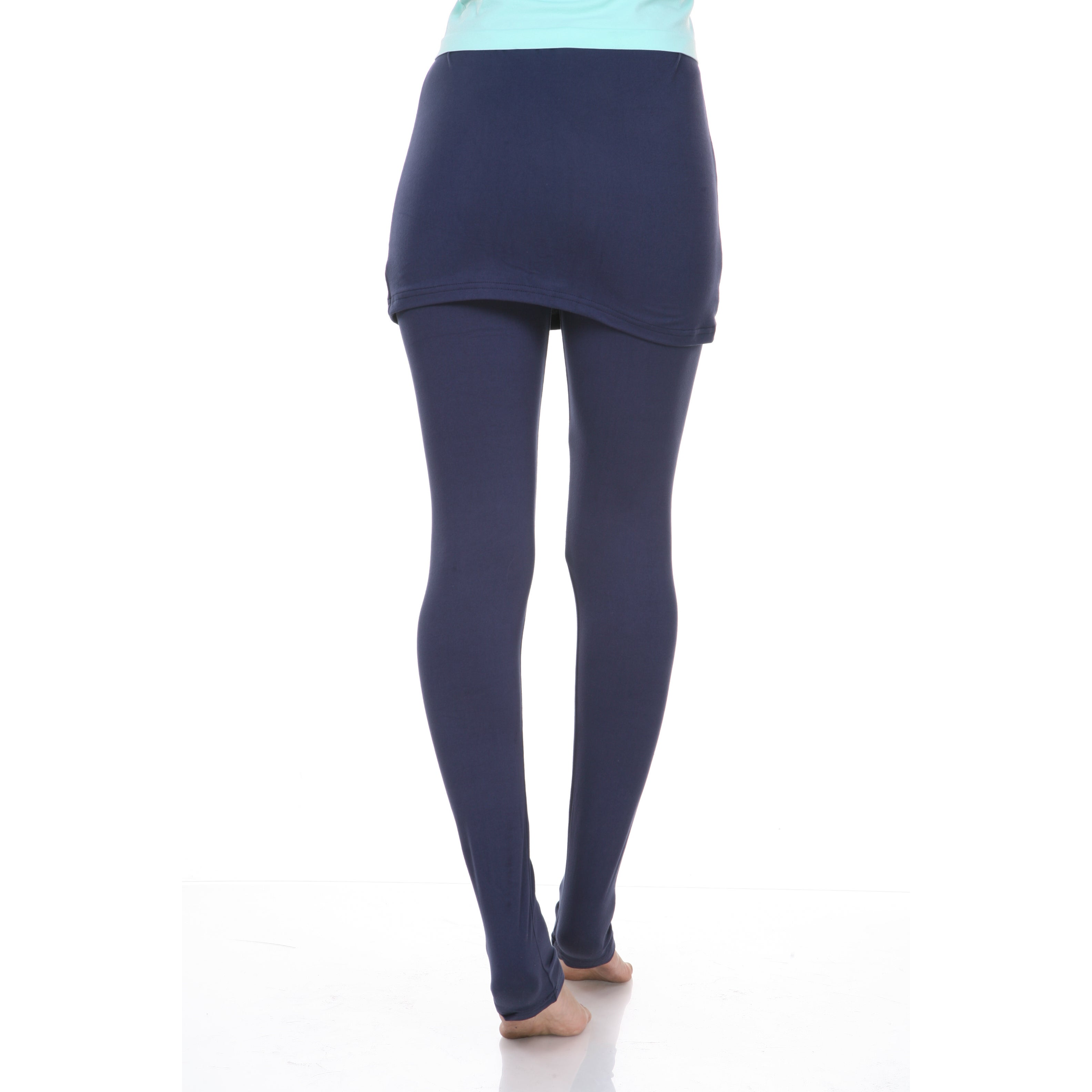 b47652c1af Shop White Mark Women's Skirted Leggings - On Sale - Free Shipping On  Orders Over $45 - Overstock - 9602763