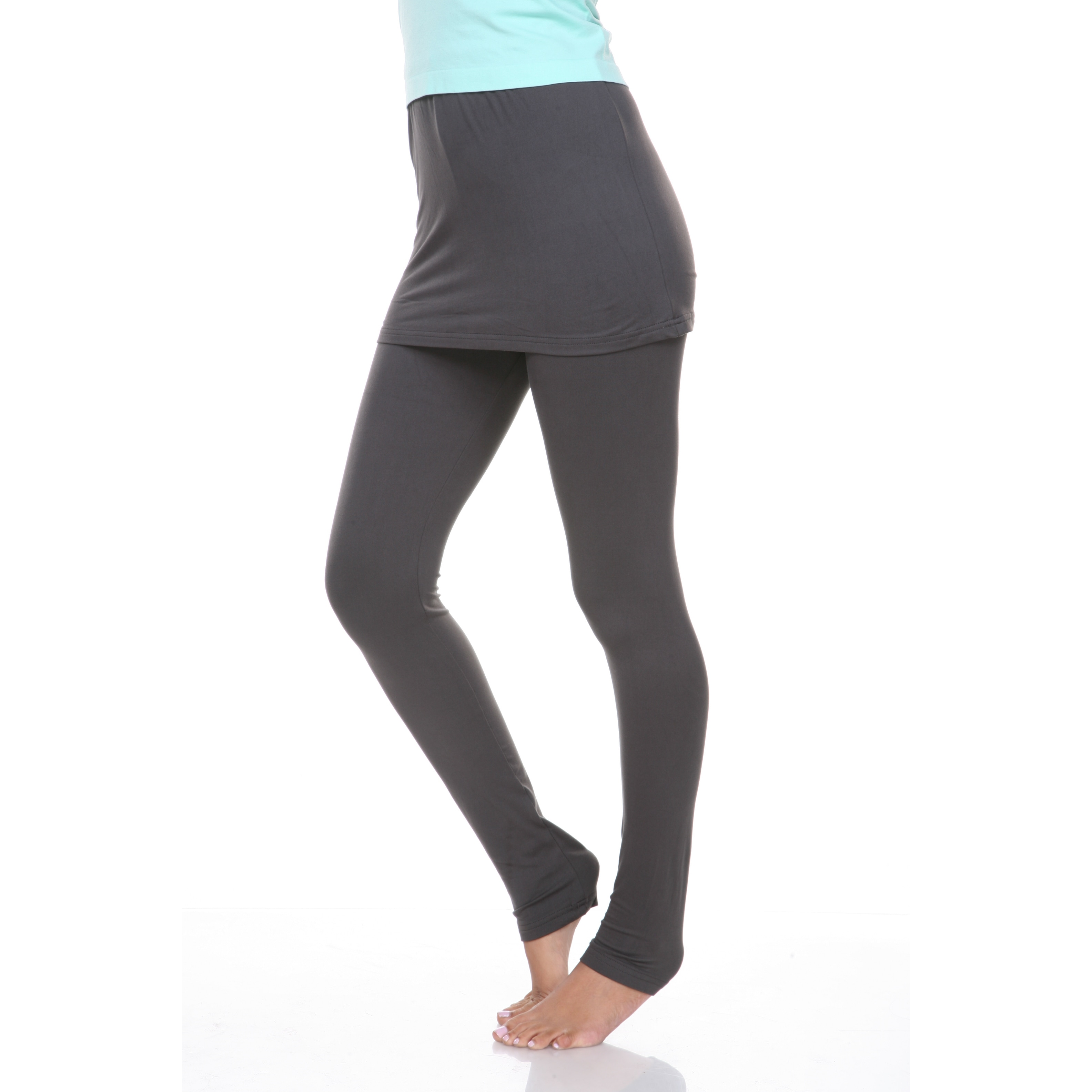 421a1b9626 Shop White Mark Women's Skirted Leggings - On Sale - Free Shipping On  Orders Over $45 - Overstock - 9602763